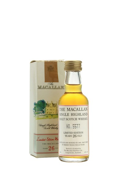 Macallan 1966 26 Year Old Miniature