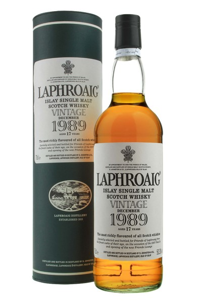 Laphroaig 1989 17 Year Old - Feis Ile 2007