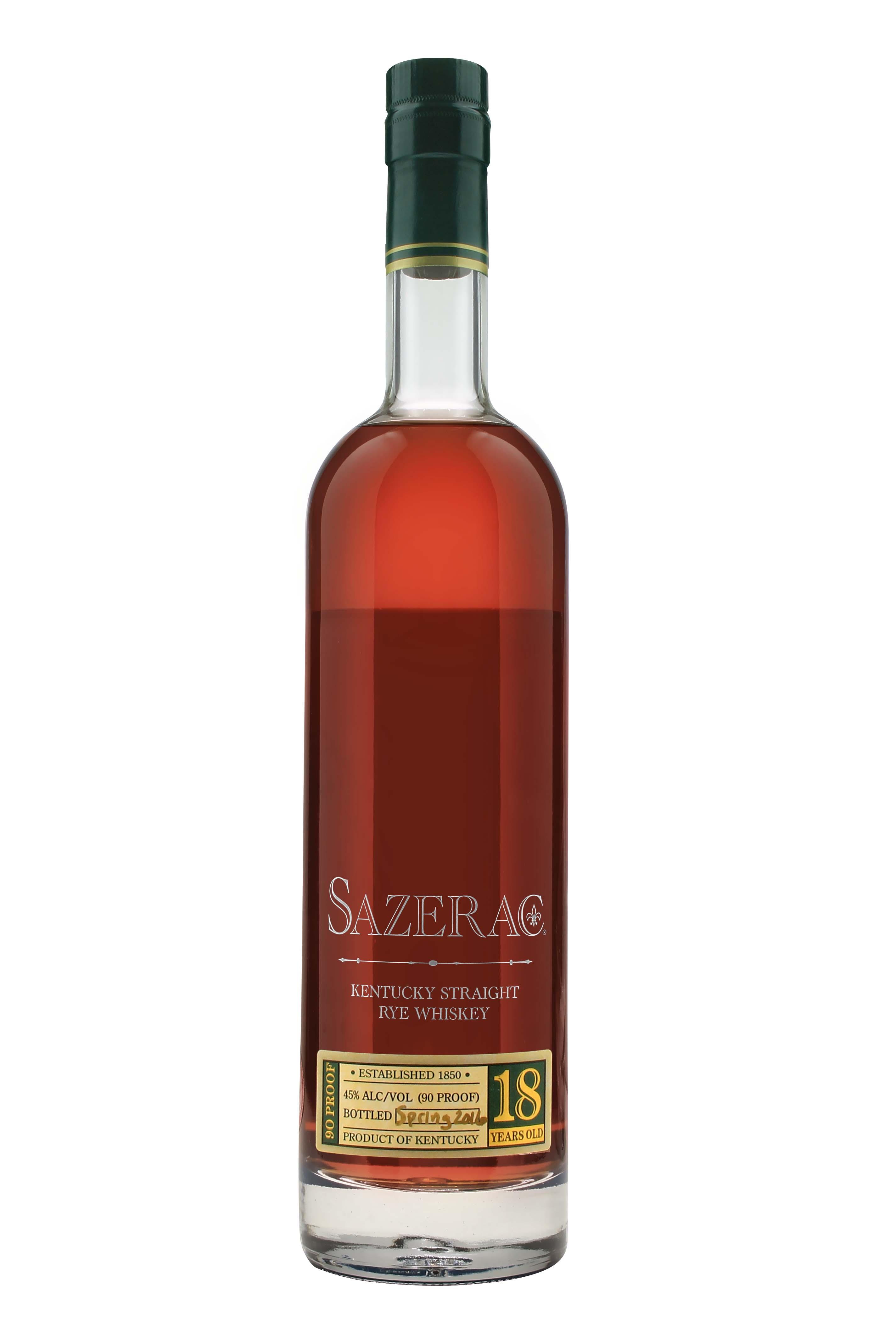 Sazerac 18 Year Old