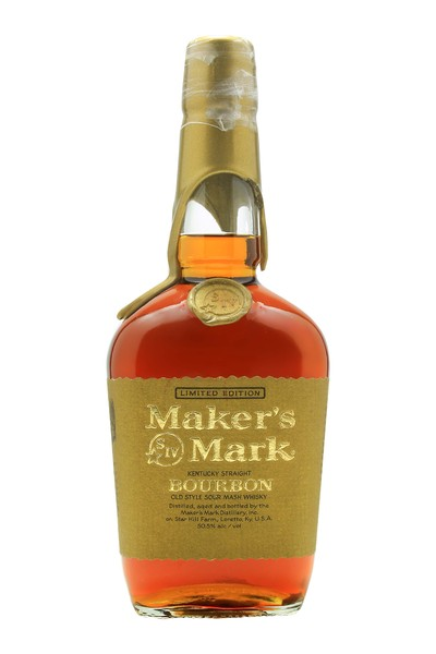 Maker's Mark Limited Edition Gold Wax