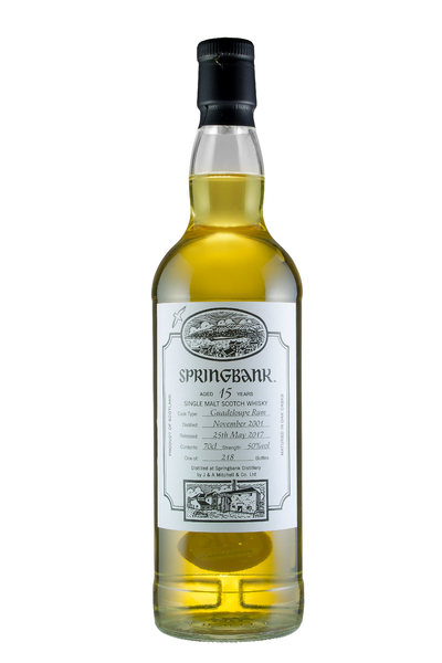 Springbank 15 Year Old Festival Bottle