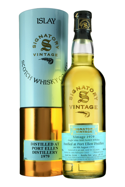 Port Ellen 1979 Signatory Vintage 22 Year Old