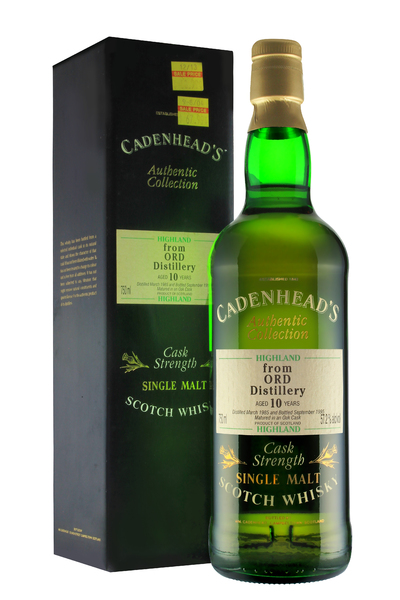 Cadenhead's Glen Ord 10 Year Old
