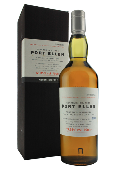 Port Ellen 24 Year Old 1978 2nd Release