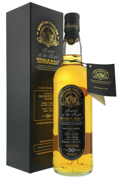 Mosstowie 30 Year Old 1975 Duncan Taylor Rarest of the Rare