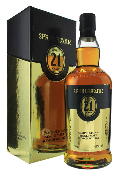 Springbank 21 Year Old 2012