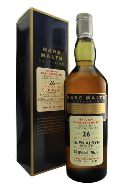 Glen Albyn 26 Year Old Rare Malts