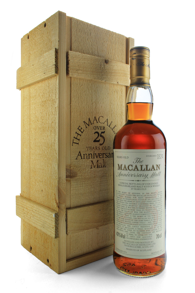 Macallan 25 Year Old Anniversary Malt 1971