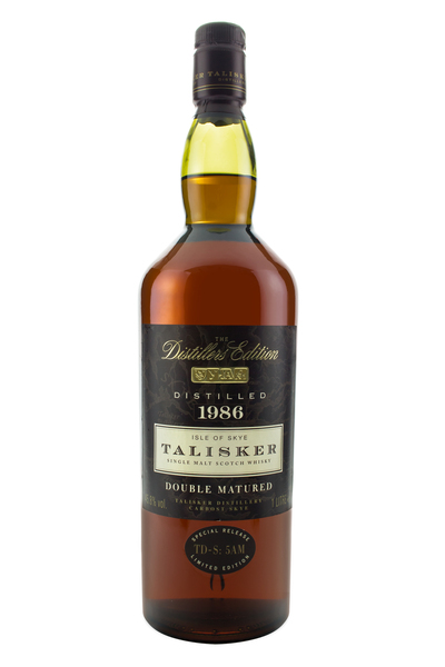Talisker 1986 Distillers Edition