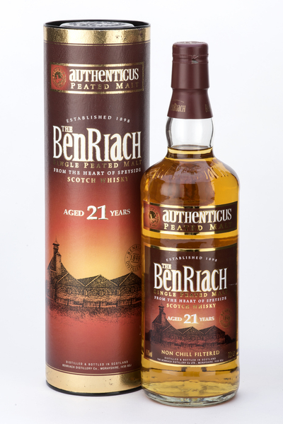 BenRiach 21 Year Old Authenticus
