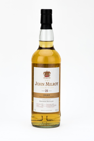 John Milroy Bowmore 21 Year Old