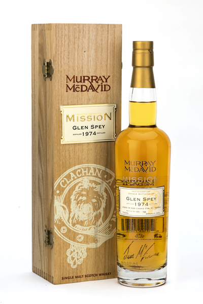 Murray McDavid Mission Glen Spey 1974 - Signed