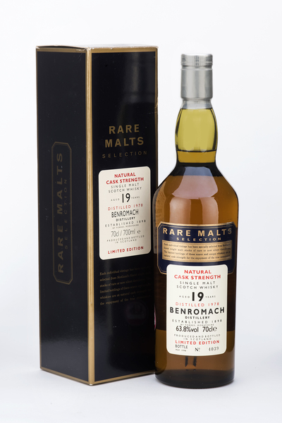 Rare Malts Benromach 19 Year Old