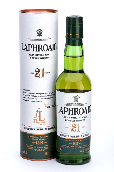 Laphroaig 21 Year Old Friends of Laphroaig 35cl
