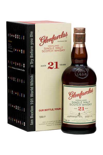 Glenfarclas 21 Year Old & Ian Buxton Book