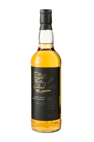 The Single Malts of Scotland Bowmore 26 Year Old