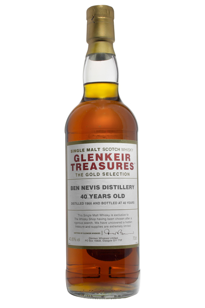 Glenkeir Treasures Ben Nevis 40 Year Old
