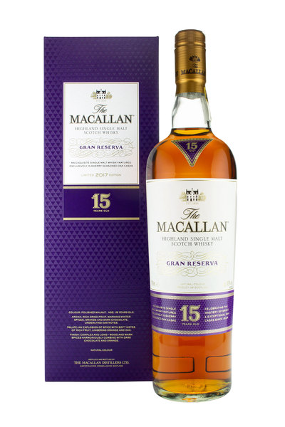 Macallan 15 Year Old Gran Reserva 2017