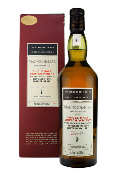 The Managers' Choice Mannochmore 1998