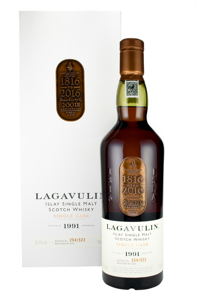 Lagavulin 1991 200th Anniversary Charity Bottling
