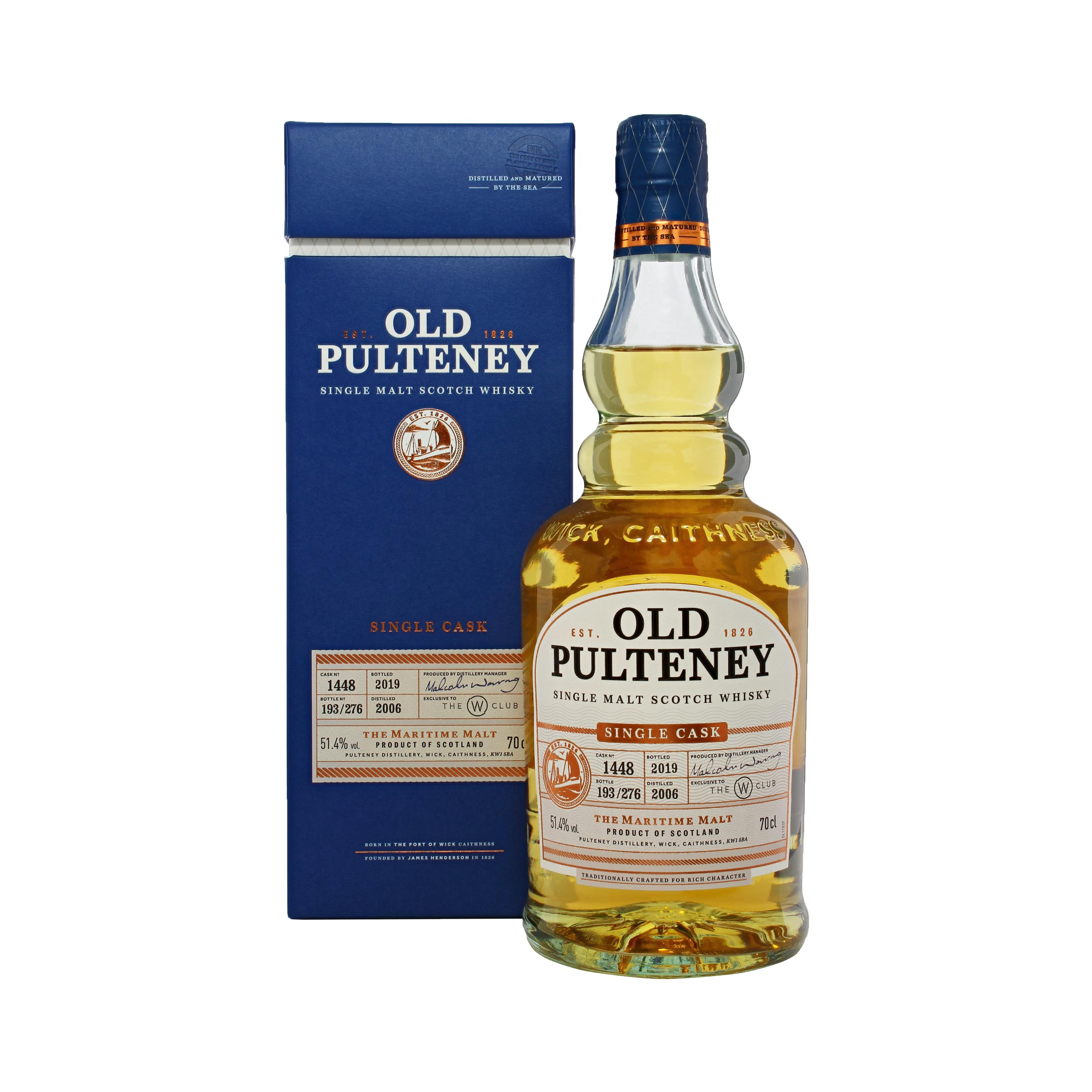 Old Pulteney 2006 #1448 Single Cask